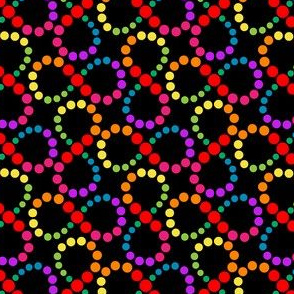 Autism infinity spectrum on black