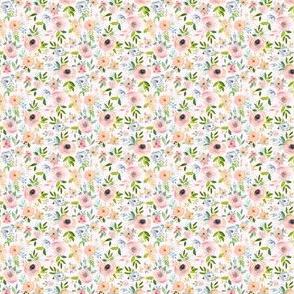 """1.5"""" Etheral Blooms - Blush"""