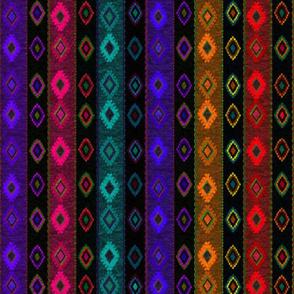 Kilim stripe multi