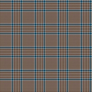 "Prince of Wales check #1, 2"" brown/blue/taupe"