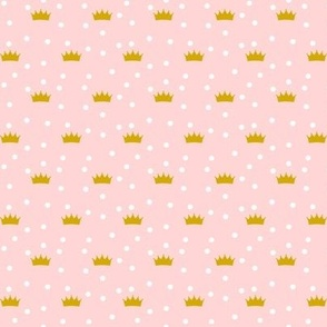 Pink Crowns small scale