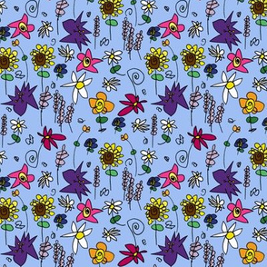 Flowers by Five in Color