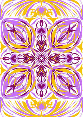 Sunlit Crystal Lattice