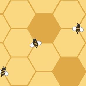 Gold Honeycomb (Large)