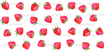 Plump Strawberries/Smaller