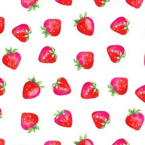 Plump Strawberries/Smaller