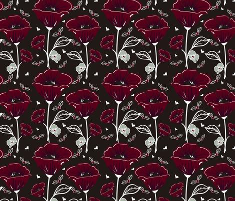 Moradas fabric by maarsic_c on Spoonflower - custom fabric