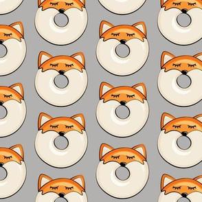 fox donuts on grey