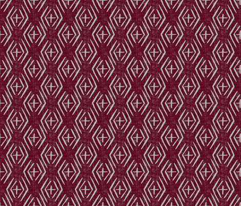 Peace - Diamond Coordinate fabric by scarlette_soleil on Spoonflower - custom fabric
