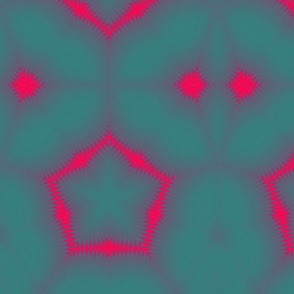 Quilt Star Turquoise