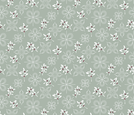 limited holiday fabric by kindredrayne on Spoonflower - custom fabric