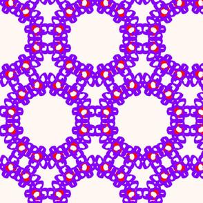 Bright Violet Rings
