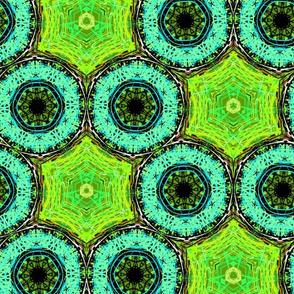 Lime Frog Honeycomb