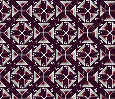 Elegant Martinis fabric by jewelraider on Spoonflower - custom fabric
