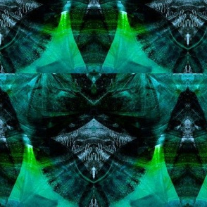 Rainforest folliage print_Mirrored-crop