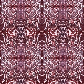 Burgundy dreaming print cropped_1 MIrrored