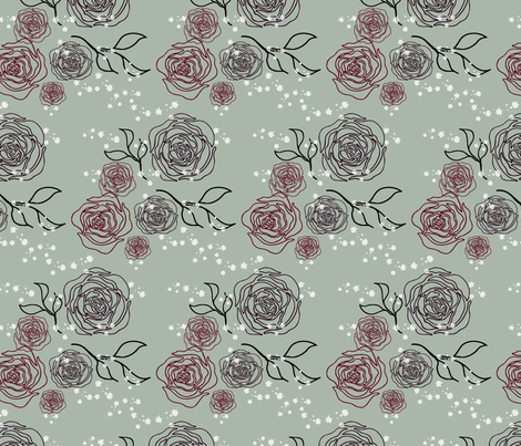 Anines Elegant Holiday-02 fabric by anines_atelier on Spoonflower - custom fabric