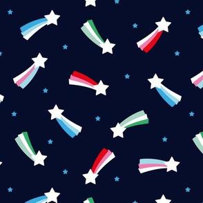Shooting stars sparkle universe sweet dreams theme girls