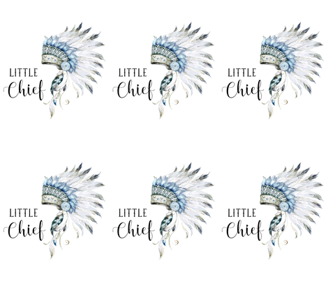 "14""x18"" Little Chief 6 to 1 Yard of 42"" Fabric fabric by shopcabin on Spoonflower - custom fabric"