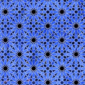 hara tiles bright blue