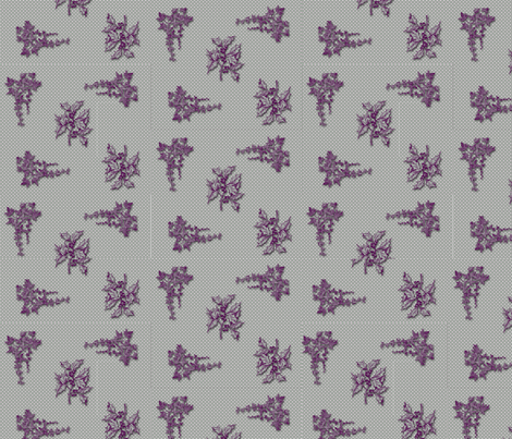 Holly and Ivy All Over fabric by shesme on Spoonflower - custom fabric