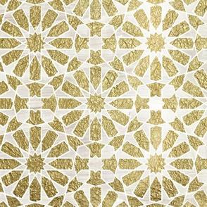 hara tiles gold
