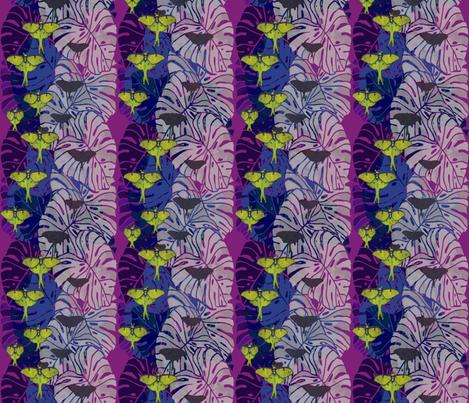 Luna Night Flight fabric by agregorydesigns on Spoonflower - custom fabric