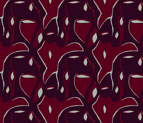 holiday dinner may 2018 fabric by l_marie_l on Spoonflower - custom fabric