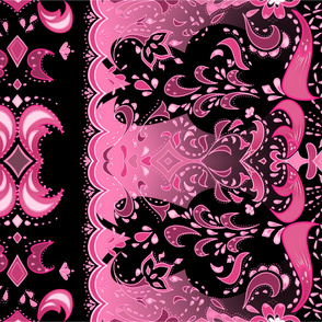Pretty in Pink Paisley