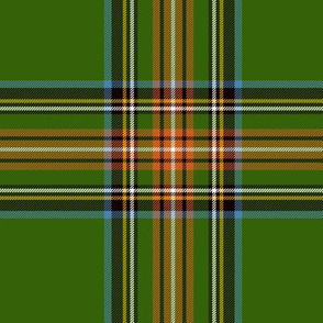 "King George VI / Green Stewart tartan,  worn by Prince Charles, 6"" ancient"