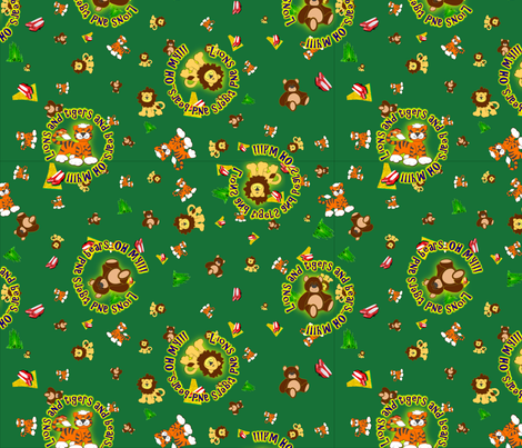 emerald_city_ditsy_colors fabric by quizzicalkittydesigns on Spoonflower - custom fabric