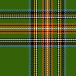 "King George VI / Green Stewart tartan,  worn by Prince Charles, 7"" ancient"