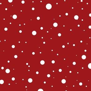 snow background02 ( red)