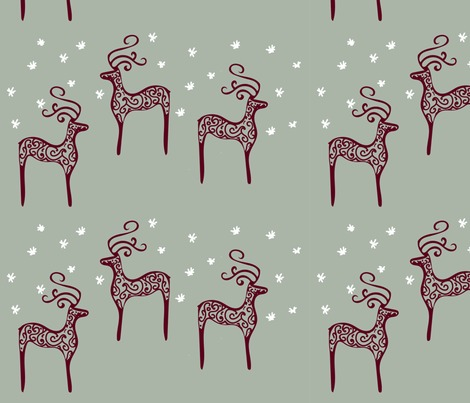 Rreindeer-on-starry-night-green-01_contest188924preview