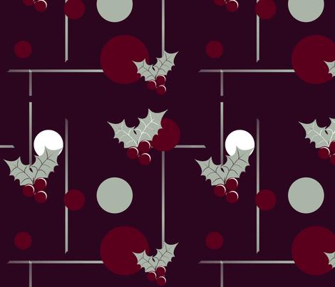 holidayjingle fabric by notbrownplaid on Spoonflower - custom fabric