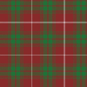 """Rothesay red doubled tartan, 6"""""""