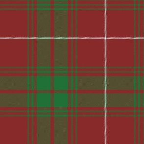 """Rothesay red doubled tartan, 12"""""""