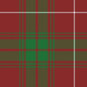 """Rothesay red doubled tartan, 14"""""""