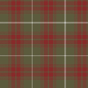 """Rothesay hunting doubled tartan, 6"""" weathered"""