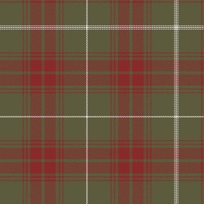 """Rothesay hunting doubled tartan, 7"""" weathered"""