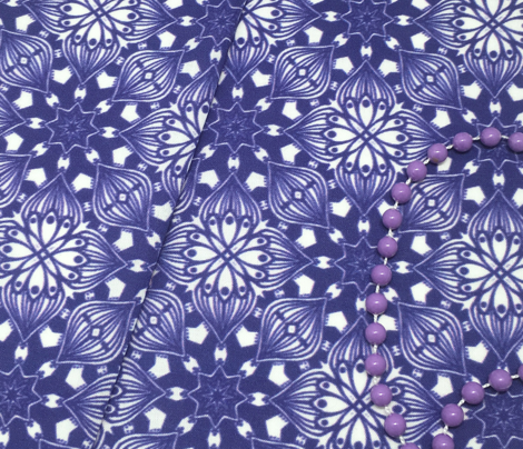 Kaleidoscopic Onion - Navy