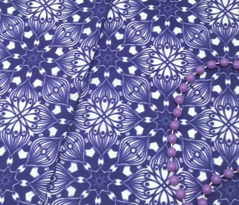 Kaleidoscopic Onion - Navy