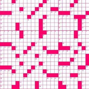 Crosswords Pink