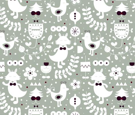 Party fabric by la_fabriken on Spoonflower - custom fabric