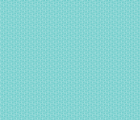 turquoise boxes sm fabric by cindylindgren on Spoonflower - custom fabric