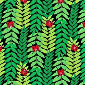 Ladybug Garden Small Motif