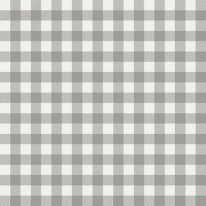 "fog check fabric - sfx5803- 1/2"" squares - check fabric, neutral plaid, plaid fabric, buffalo plaid"