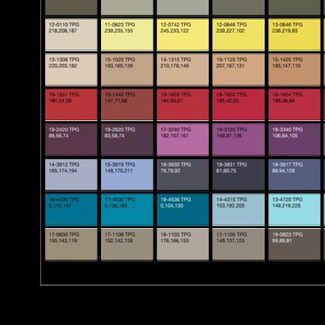 PANTONE Fashion Home + Interiors Color Guide fabric by elizabethhalpern on Spoonflower - custom fabric