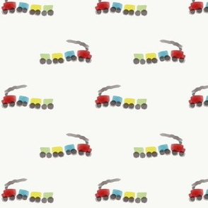 trains-on-white-background