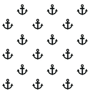 Anchors-white-background